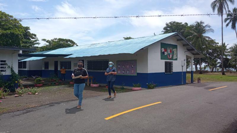 Inspeccionan escuelas en Chiriquí para el retorno a las aulas