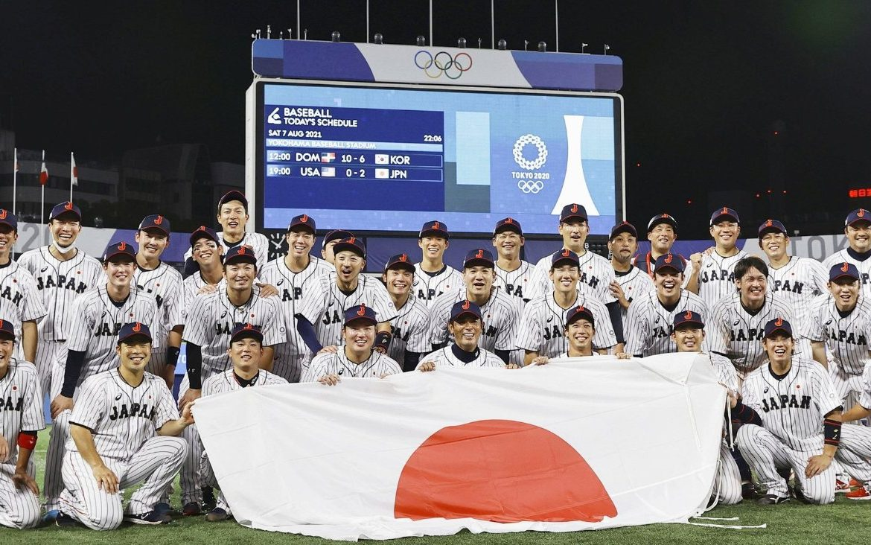 Oro y diamantes: Japón es campeón olímpico en su deporte nacional, el béisbol