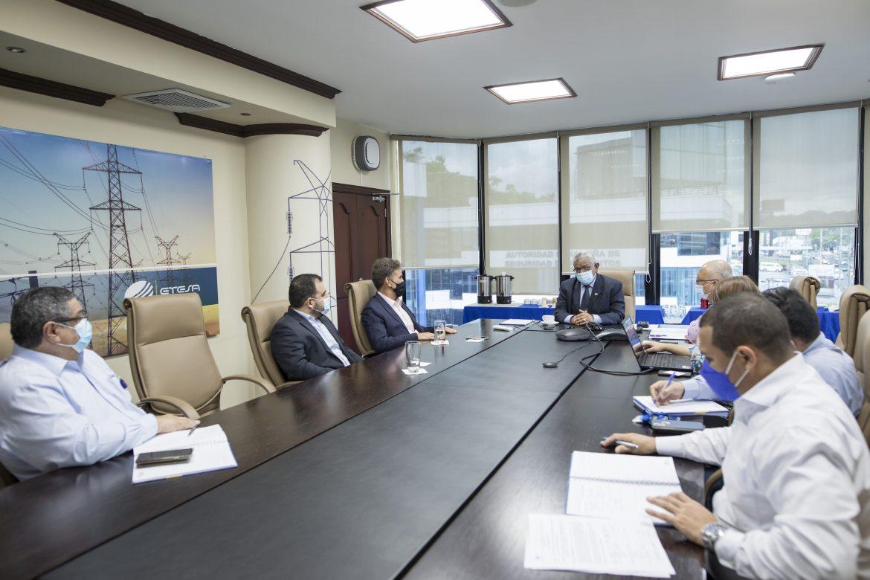 Se estableció mesa de trabajo relativa al proyecto Sabanitas-Panamá III