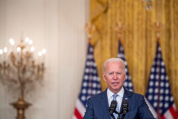 Biden eleva a 5.000 el despliegue de tropas en Afganistán ante el avance talibán