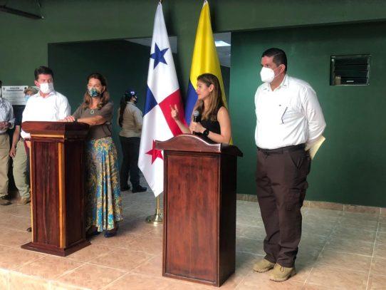 Panamá y Colombia  acordaron elaborar plan para paso seguro y ordenado de migrantes irregulares