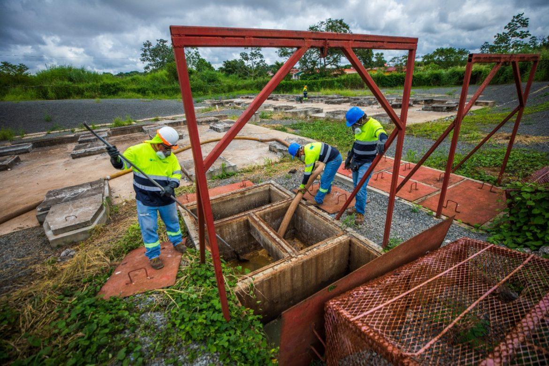 Saneamiento intensifica operativos en Panamá Oeste