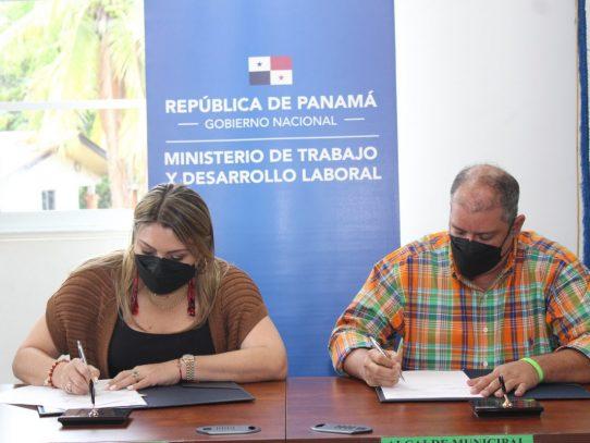 MITRADEL y Municipio de Aguadulce se unen para luchar contra el trabajo infantil