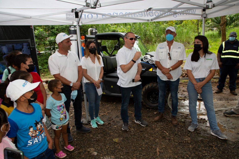 Proyecto de agua potable es producto del TLC Panamá-Israel