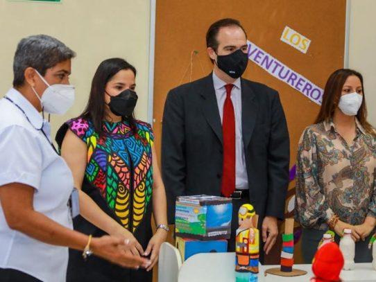 Presidente del BID ponderó reapertura de los CAIPI en pandemia