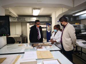 Visita a Archivos Nacionales
