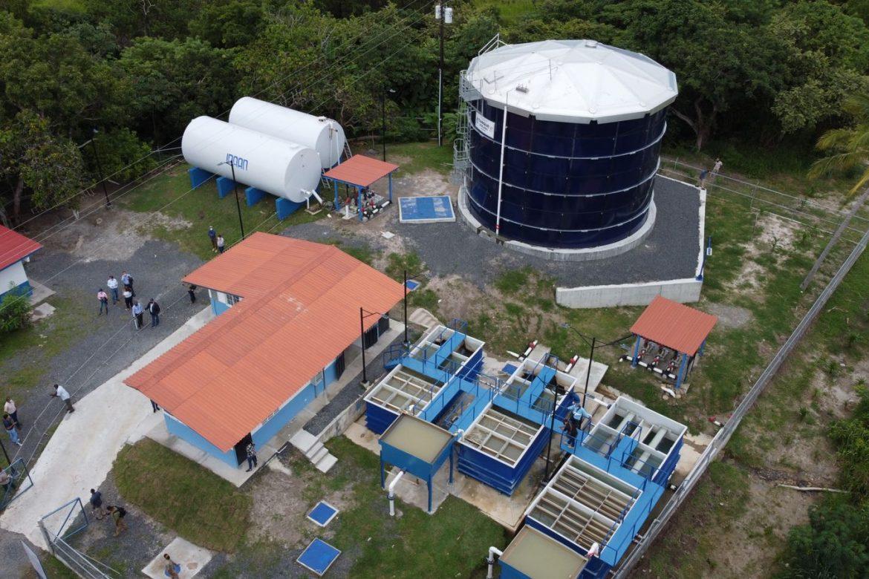 Presidente entregó proyecto de abastecimiento de agua potable en San Carlos