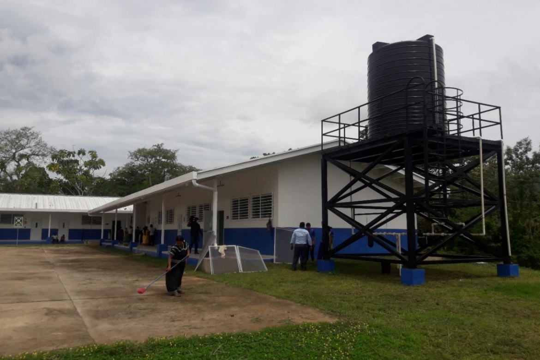 Unas 102 juntas comunales desarrollan proyectos de tanques de reserva de agua en escuelas