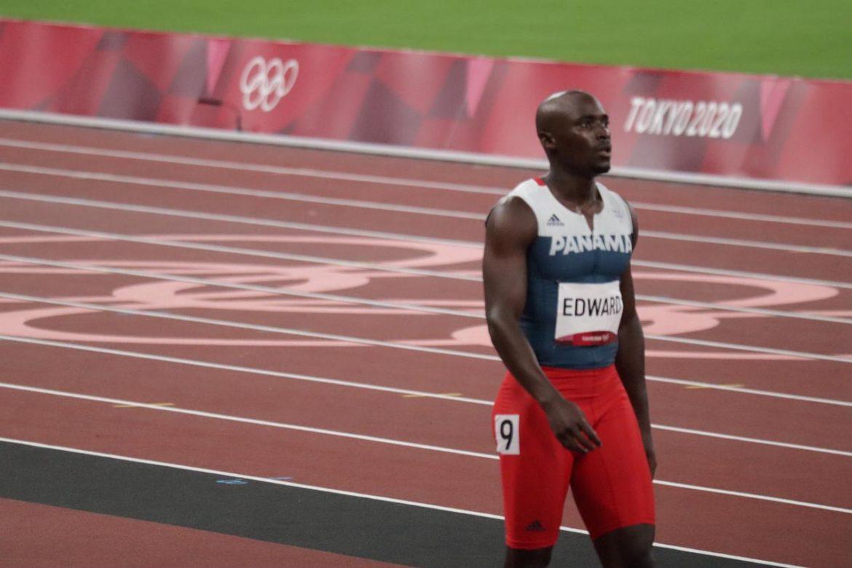 "Una ""distensión muscular"" puso fin a participación de Alonso Edward en Tokio 2020"
