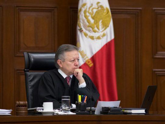 Presidente de Suprema Corte mexicana rechaza ampliar su mandato
