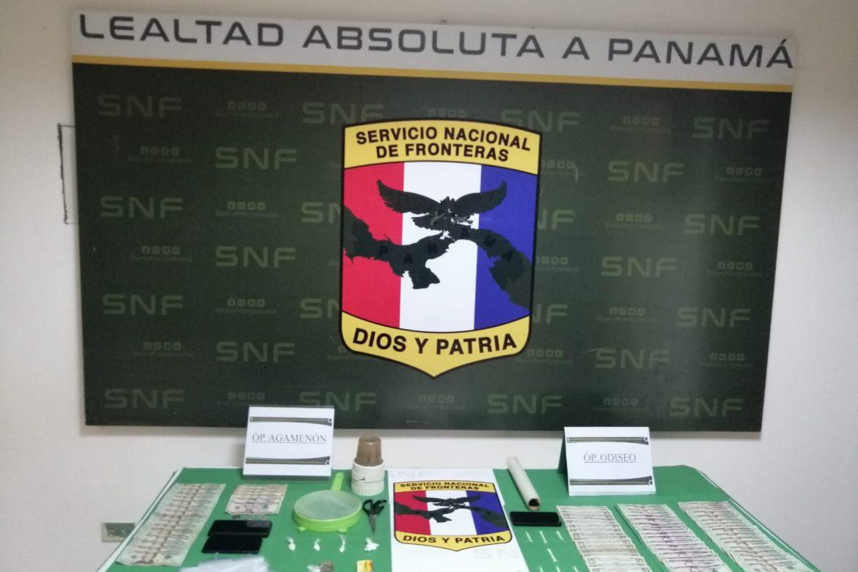 Tres aprehensiones, decomiso de sustancias ilícitas y dinero en Barú