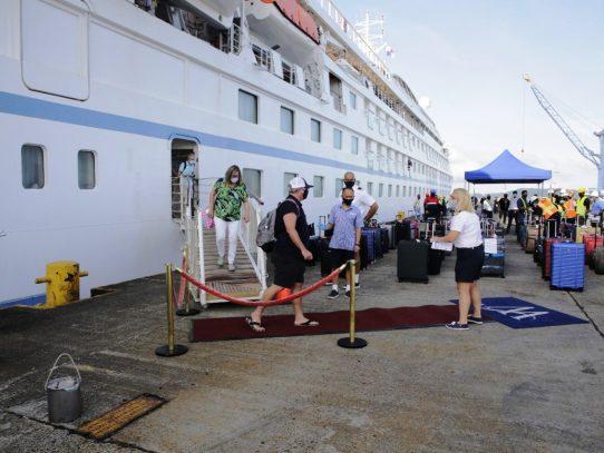 Panama Ports Participa en reactivación de turismo de cruceros