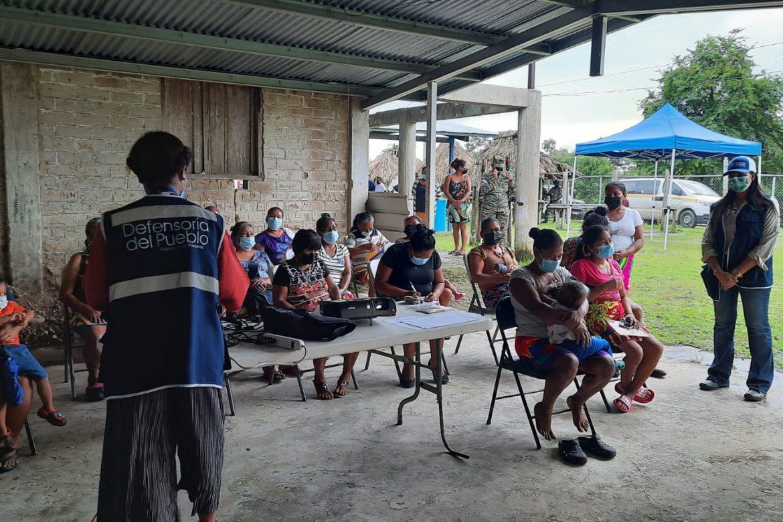Defensoría del Pueblo atiende necesidades y quejas de la comunidad Piriatí Emberá