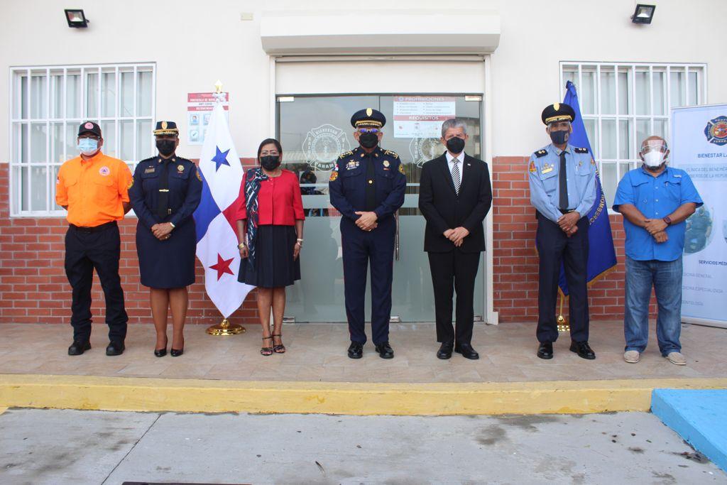Cuerpo de Bomberos reabre clínica en la estación de Plaza Amador