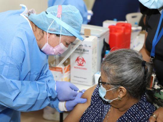 Más de 2 millones de panameños vacunados con segundas dosis