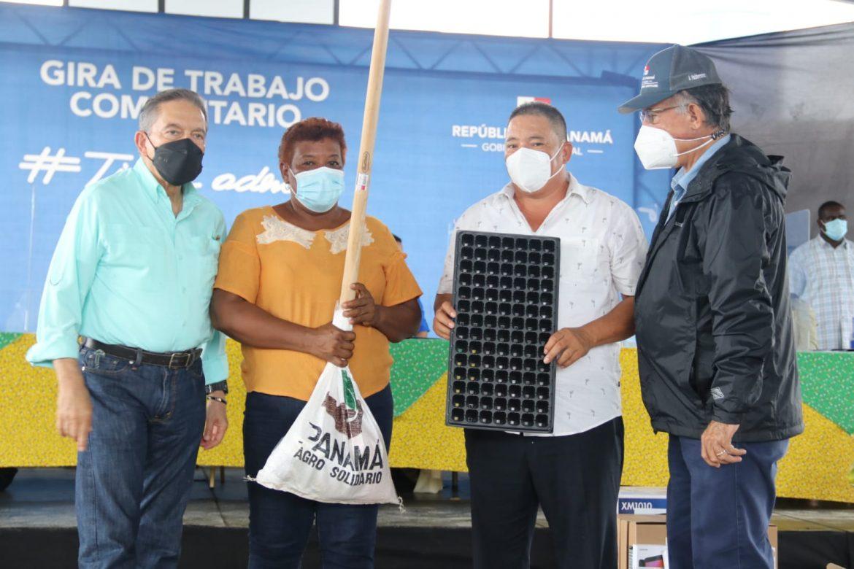 Gobierno a través del Programa Agro Vida entregó apoyo agrícola a familias en San Carlos