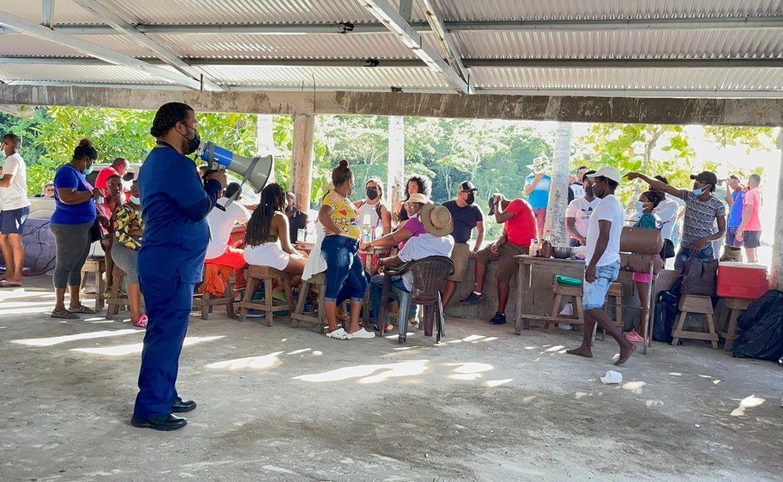 MINSA realizó gira de salud integral en el distrito de Chimán