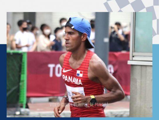 Panameño Castel Blanco terminó 75 entre 106 participantes en la maratón de Tokyo