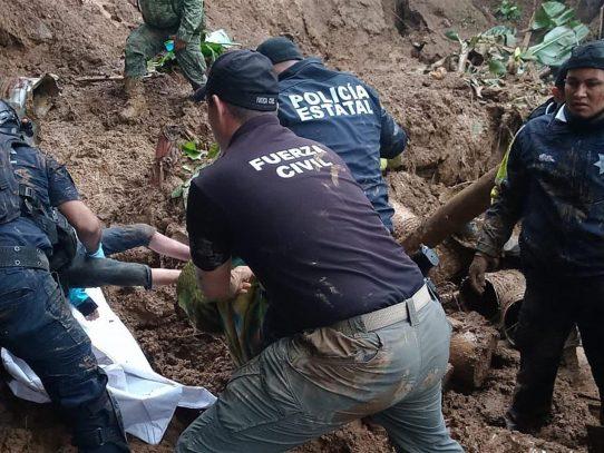 Grace se degrada pero provoca siete muertes, inundaciones y daños en México