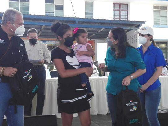 MIDES entrega ayuda social a varias localidades de Coclé