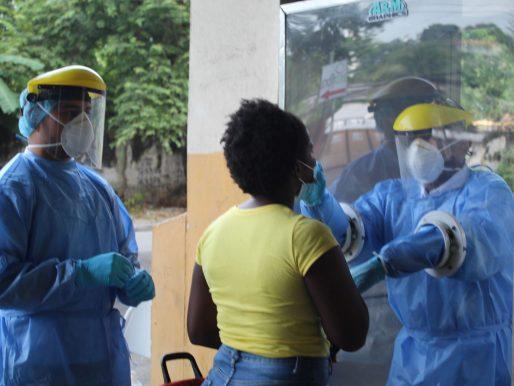 Más de 2 mil hisopados se hicieron en San Miguelito en mes de julio