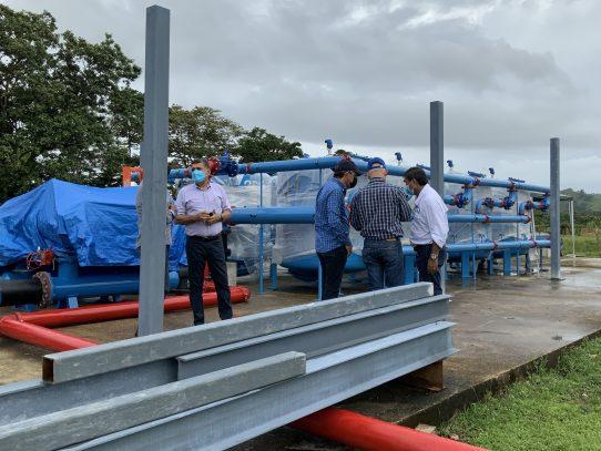 Planta potabilizadora de Portobelo deberá culminar en septiembre