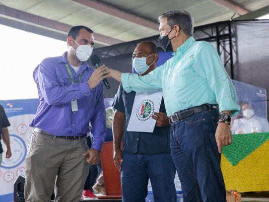 Productores de Panamá Oeste recibieron B/.416,400.00 para sus producciones