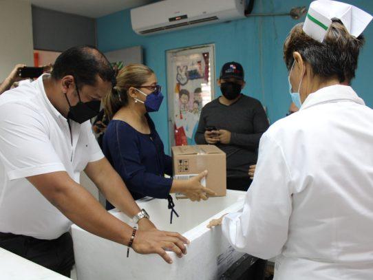 Llegan a Veraguas 68,220 dosis de vacunas contra la Covid-19
