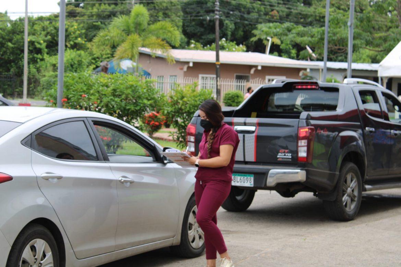 Punto fijo para realizar pruebas de detección de COVID-19 en Veraguas