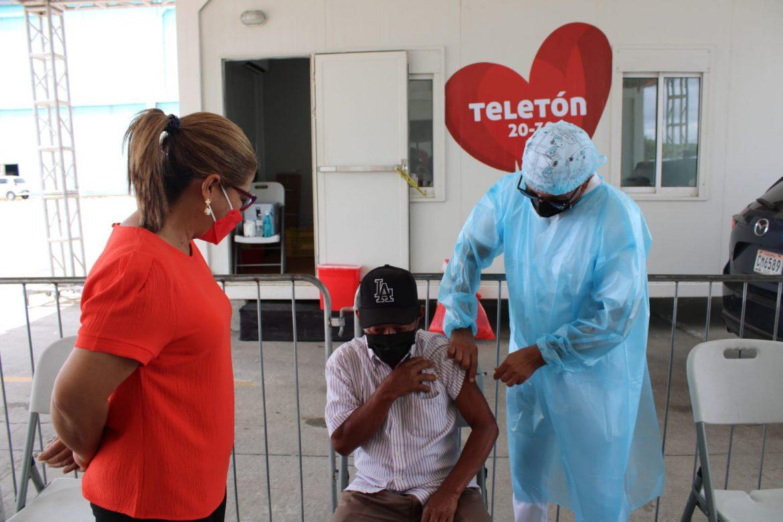 Veraguas: Vacunación de AstraZeneca llega a más de 33 mil personas