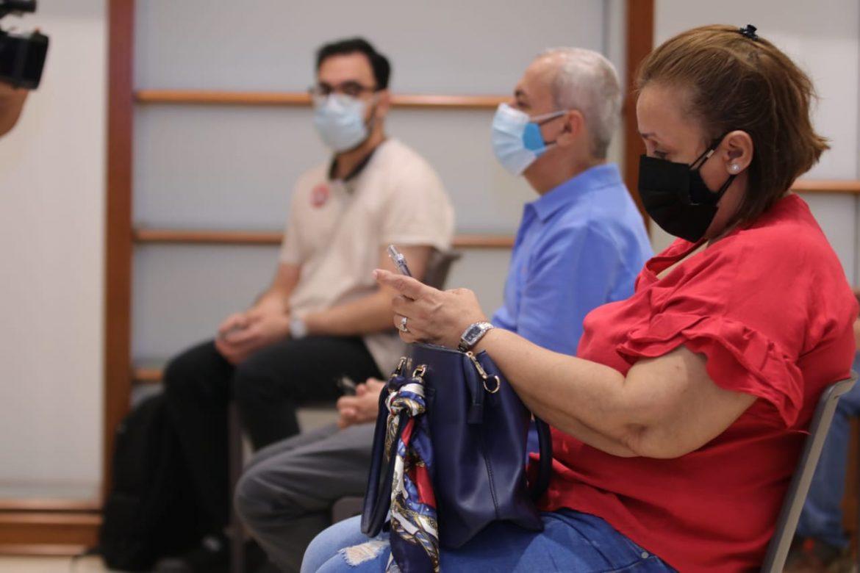 Avanza proceso de vacunación en Multiplaza Pacific sede del Hospital Pacífica Salud