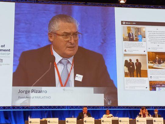 """Presidente del Parlatino: """"La pandemia desnudó desigualdad social en Latinoamérica"""""""
