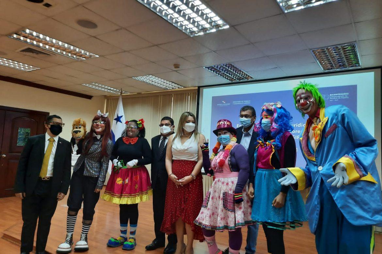 Sindicato de Payasos, Animadores Infantiles y Similares de Panamá recibió su personería jurídica