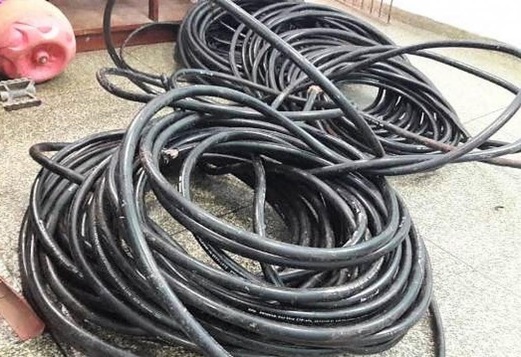 A prisión por intentar hurtar 100 metros de cables valorados en más de 5 mil dólares
