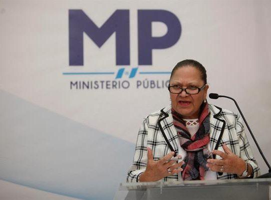 Piden la dimisión de la fiscal general de Guatemala tras la sanción de Estados Unidos