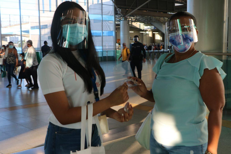 En el Metro de Panamá: Autocuidado y sana convivencia entre usuarios