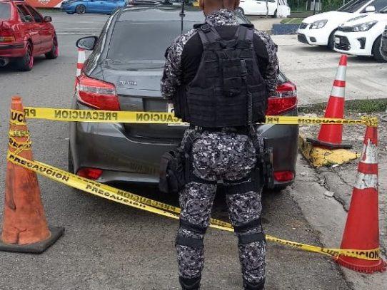 Fin de semana: Recuperan 8 vehículos hurtados, incautan 388 paquetes de drogas y 25 armas de fuego