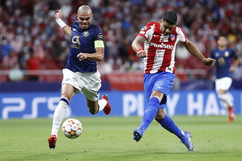 El Atlético de Madrid empata 0-0 con el Oporto en Champions