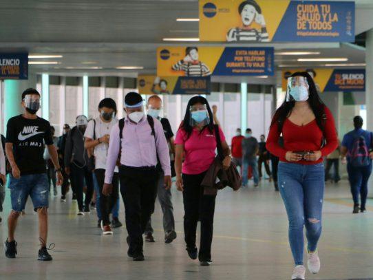 Metro de Panamá reitera el uso obligatorio de las pantallas faciales