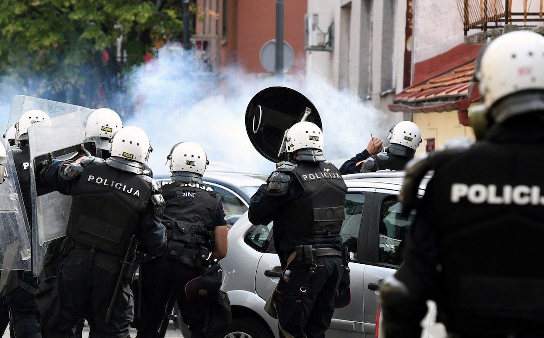 Unos 50 heridos en entronización del jefe de la iglesia ortodoxa serbia en Montenegro