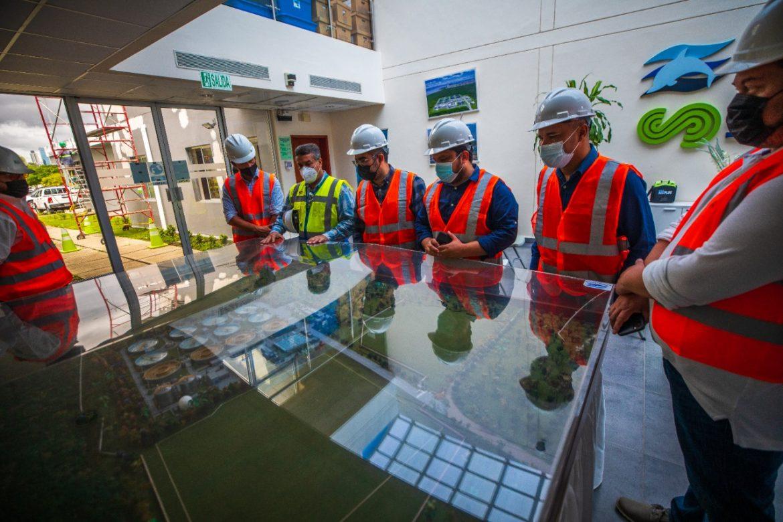 Efectiva gestión para procesar aguas residuales realiza Panamá, destacan concejales salvadoreños