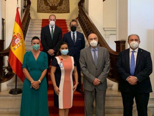 Autoridades del Reino de España de visita en Panamá para práctica de diligencias judiciales