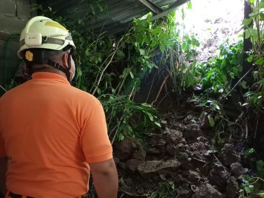 Tres niños y seis mujeres rescató el Sinaproc