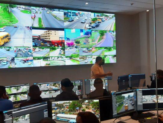 7.5 millones invirtió el municipio de La Chorrera en Sistema de Videovigilancia Interconectado