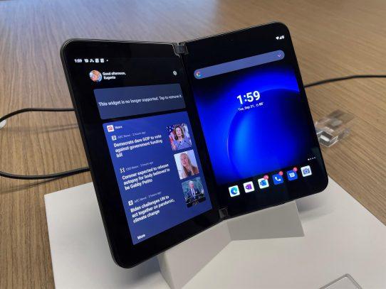 Microsoft actualiza Surface con nuevo portátil, tabletas y un móvil plegable