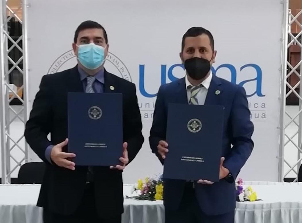 Acuerdo de colaboración suscribieron Apatel y la USMA