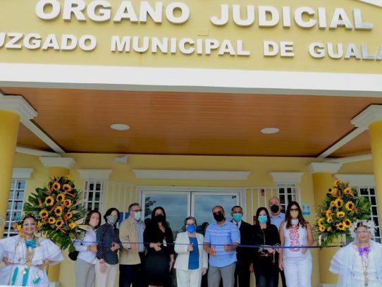 Inauguran Juzgado Municipal en Gualaca, Chiriquí