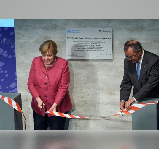OMS inaugura en Berlín un centro de investigación y detección de epidemias