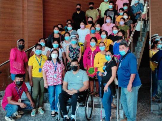 Personas con discapacidad de áreas comarcales recibirán capacitación para emprender negocios