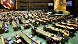 Presentación en ONU